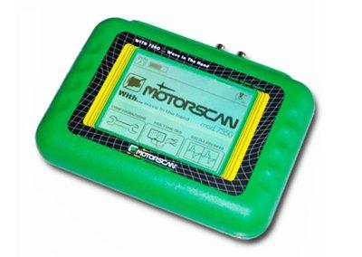 Motorscan WITH 7350 – Oszilloskop